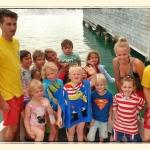 Abschluss Kinderanfängerschwimmkurs 2015