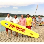 Neues Rescue-Board für Strandbad Maiernigg