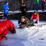 Eisrettungseinschulung der ÖWR Einsatzstelle Klagenfurt