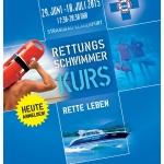 Rettungsschwimmkurs 2015 der ÖWR Einsatzstelle 1/3 Klagenfurt
