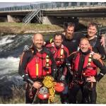 Fließwasserübung der ÖWR Einsatzstelle Klagenfurt