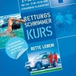 Rettungsschwimmausbildung – Anmeldeschluss für Kurs = Sonntag, 02.07.2017