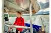 Manövrierunfähiges Segelboot am Wörthersee