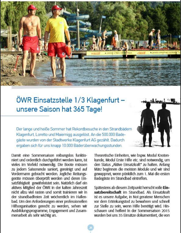ÖWR Einsatzstelle Klagenfurt - Seite 1