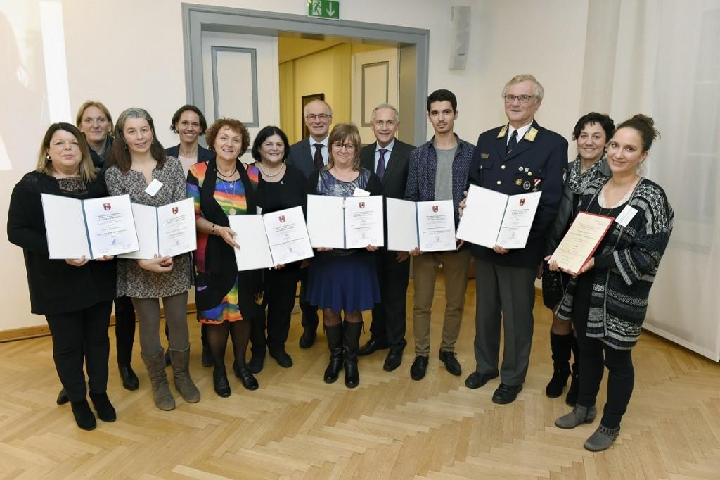 Verleihung 17. Klagenfurter Gesundheitspreis 2017 mit Vzbgm. Jürgen Pfeiler ©fritzpress